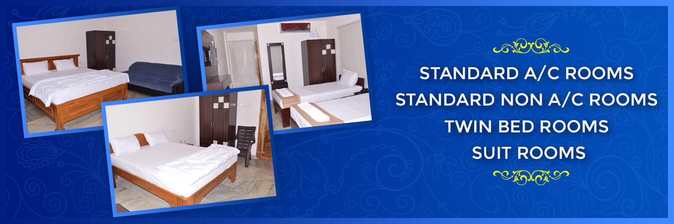 satyadeva residency rooms